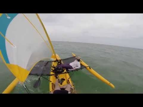 Yellow Hobie Adventure Island Tandem Key Largo