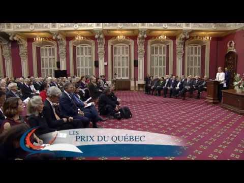 Cérémonie des Prix du Québec 2016