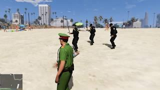 GTA 5 Công an phường và cơ động bảo vệ bờ biển (ý tưởng Fan)