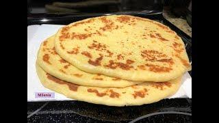 ЛЕПЁШКА  НААН (нан) - самая популярная в мире. Если нет дома хлеба....