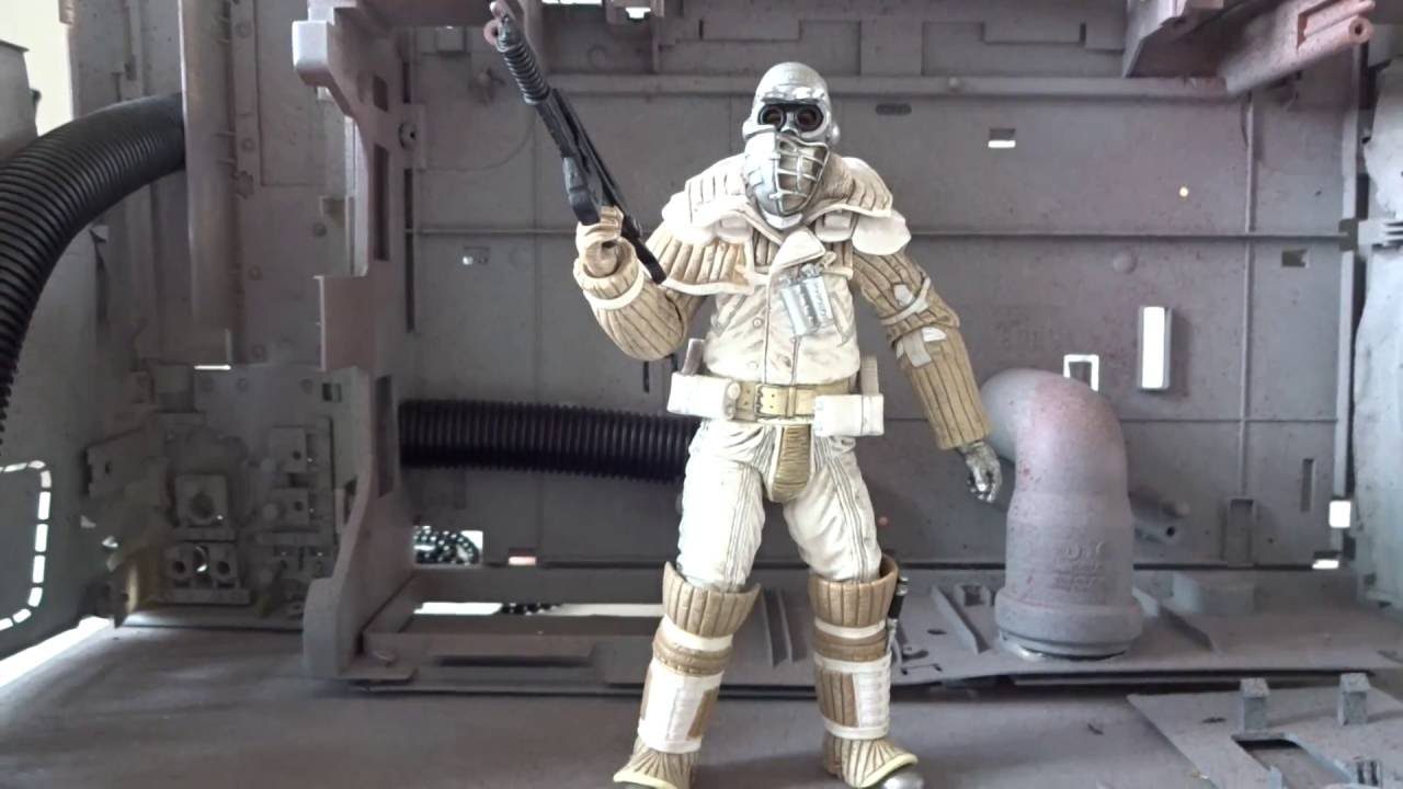 NECA Aliens Series 8 - Weyland-Yutani Commando - Figure review
