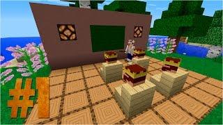 Строим шкафы в MINECRAFT #1(Шкафы. Рубрика