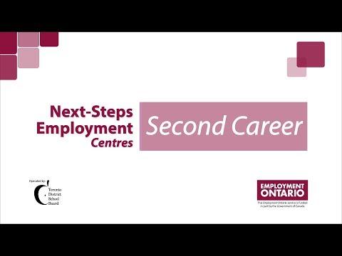 Next-Steps Employment Centres - Second Career Program