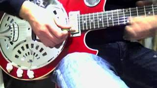 jay turser jt res resonator guitar mod with vox ac30 c2x
