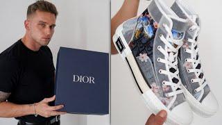 Dior B23 High-Top Sorayama Sneaker Unboxing | Men's Fashion 2019