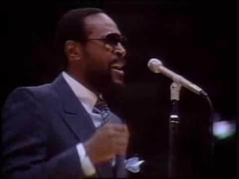 Marvin Gaye sings American National Anthem
