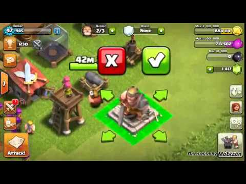 Gemming The Barbarian King (Clash Of Clans)