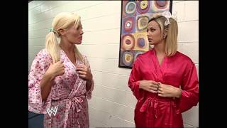 Repeat youtube video Torrie Wilson, Stacy Keibler, & Dawn Marie Lingerie Contest