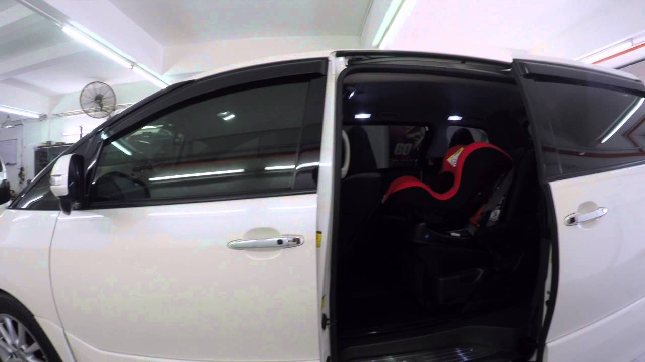 & Toyota Estima (ACR50) - Power door One touch button - YouTube Pezcame.Com