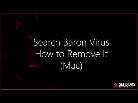 Search Baron Virus Mac - How To Remove It