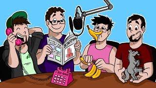 Mark, Bob, Wade and Jack animated - BONERCAST
