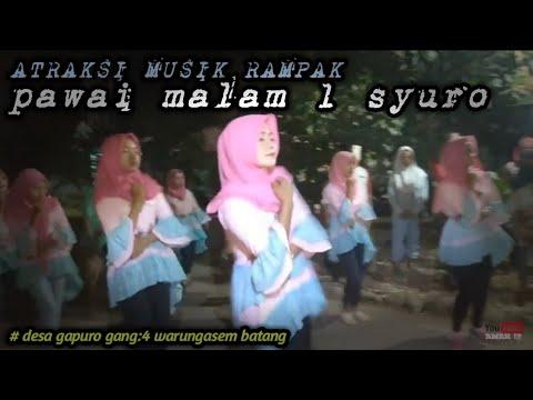🔴atraksi musik rampak malam 1 syuro by:amar12 channel