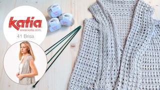 Knitting Tip Vest Brisa   Chic 93 Mod 41
