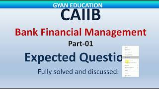 CAIIB Expected Questions for 2018   BFM   PART-01   Mod- A 