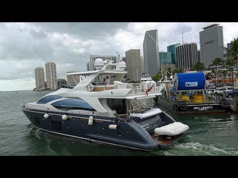Miami - Around Biscayne Bay (rich And Famous Boat Tour) 4K