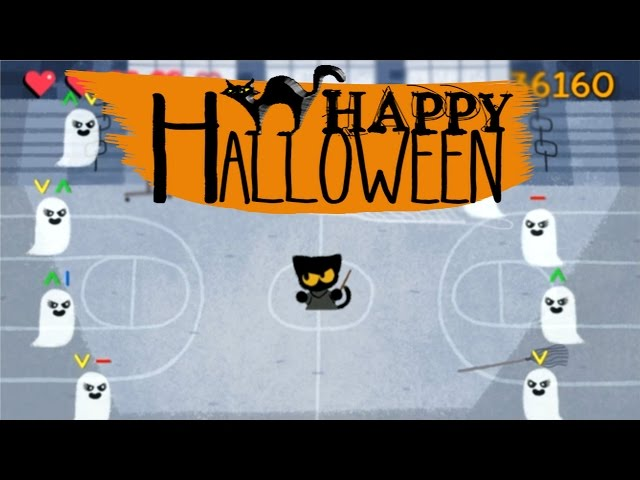 Google Launches Spooky Halloween Doodle Game Magic Cat
