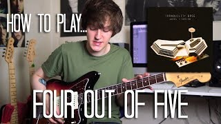 How To Play Four Out Of Five - Arctic Monkeys Guitar Lesson w/Tabs (Tranquility Series)