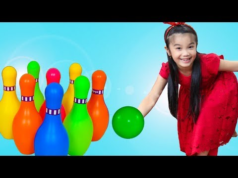 Hana Pretend Play With Kids Bowling Game Toy Play Set