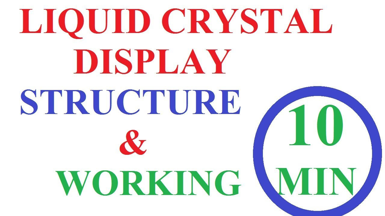 liquid crystal display in computer graphics | LCD Displays Explained