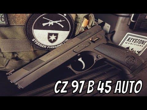 CZ 97 B 45 ACP Pistol