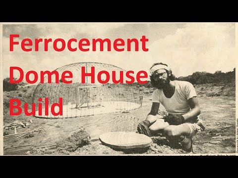 Ferrocement House Project - Part 2 - Starting the Build
