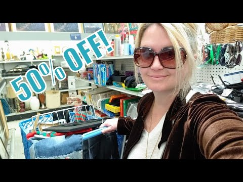 Extra Large Goodwill Haul!  50% off at Goodwill Haul!