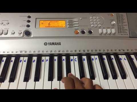 Maryan - Innum Konjam Naeram Keyboard Pianocover | A. R. Rahman | Dhanush