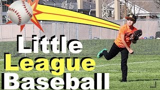 ⚾️LITTLE LEAGUE BASEBALL PRACTICE⚾️