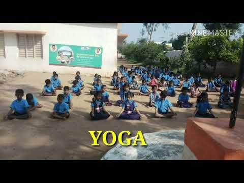 ##Fit India School Week## M.P.P.S.Guttur.