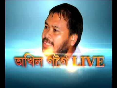 chorcha : akhil gogoi live part 1