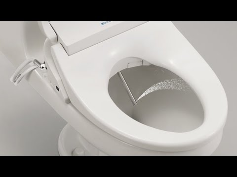Bidet Toilet Seat Makes A Throne Fit For Royalty Youtube