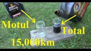 Total vs. Motul po 15 tys km - czy warto zapłacić 2x więcej?