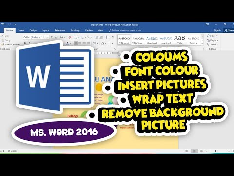 tik/ict-kelas-2-sd---ms.-word---coloumns,-fonts,-insert-picture,-wraptext,-remove-backgr-picture