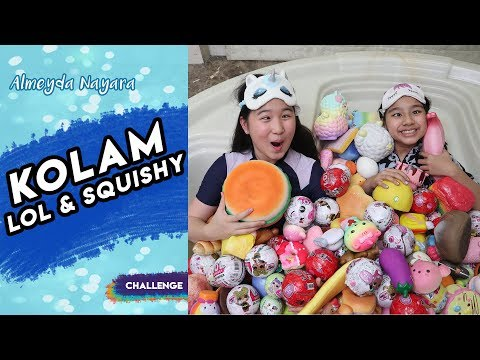 Terjebak di Kolam LOL & Squishy! | Special 700k