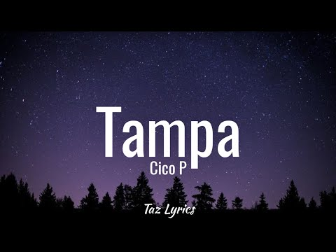"Cico P - Tampa (Lyrics) ""That boy bad news he a menace to society"""