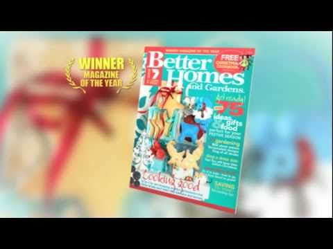 Better Homes And Gardens December 2010 Youtube