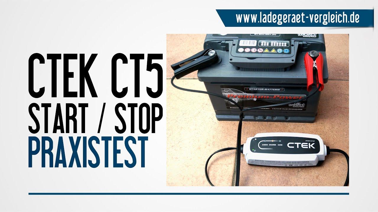ctek ct5 start stop test wir testen das automatische. Black Bedroom Furniture Sets. Home Design Ideas