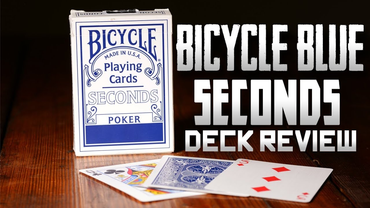 Bicycle seconds poker estampille cristal baccarat