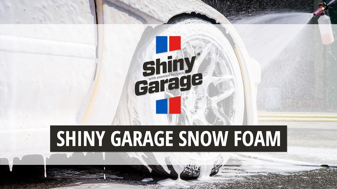 shiny garage snow foam youtube. Black Bedroom Furniture Sets. Home Design Ideas