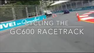 Cycling the Gold Coast 600 Racetrack
