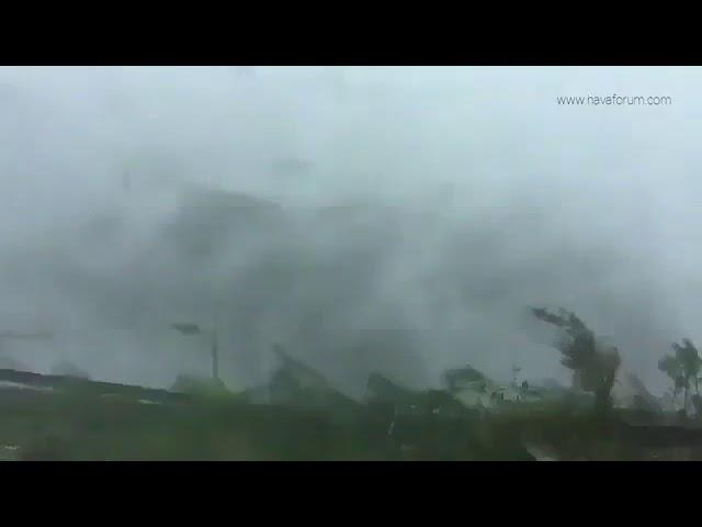 استمع الى صوت الاعصار ايرما irma sound صوت الرياح الصرصار العاتية