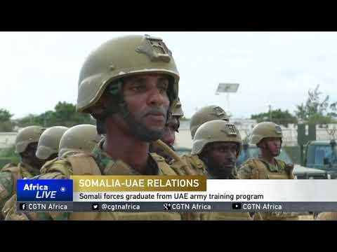 Somali forces graduate from UAE army training program