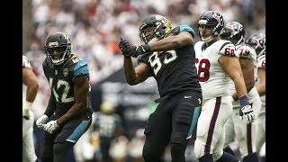 Calais Campbell Celebrates a 0 Yard Sack While Being Blown Out!