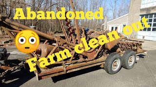 Abandoned farm clean out