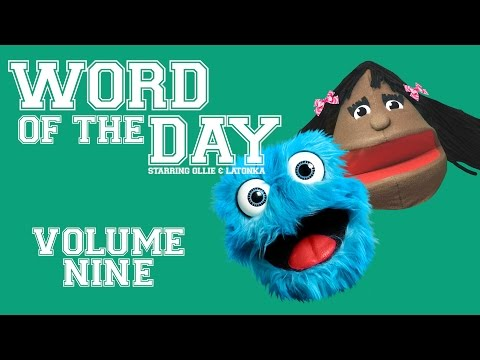Fluffy Friends - Word of the Day: Volume Nine