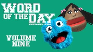 fluffy friends word of the day volume nine