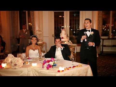 Greatest and Funniest Best Man Speech at a Wedding