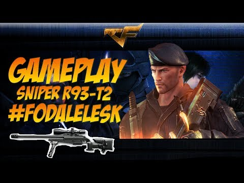 Gameplay Sniper R93-T2 #FodaLelesk