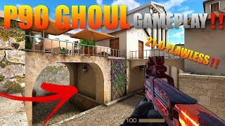 StandOff 2 P90 Ghoul Pro Gameplay‼️ (Flawless 21-0)