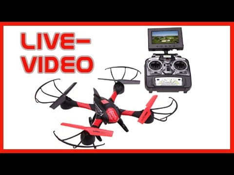 fpv quadrocopter drohne mit kamera sky hawkeye 1315s. Black Bedroom Furniture Sets. Home Design Ideas